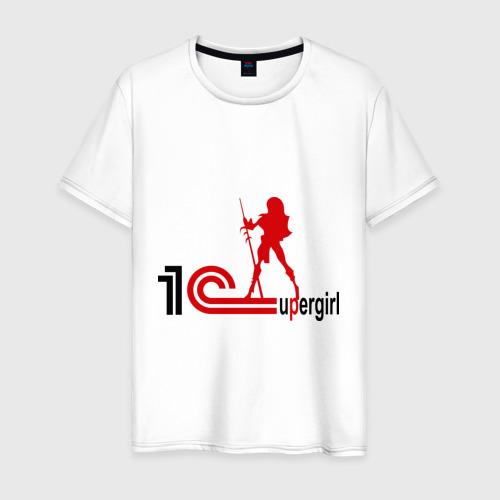 Мужская футболка хлопок 1C SuperGirl (3)