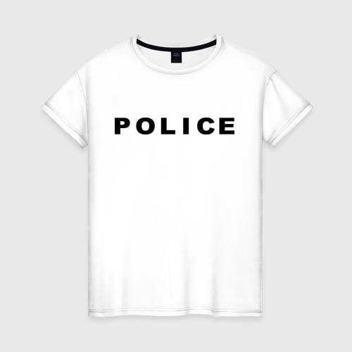 Женская футболка хлопок POLICE