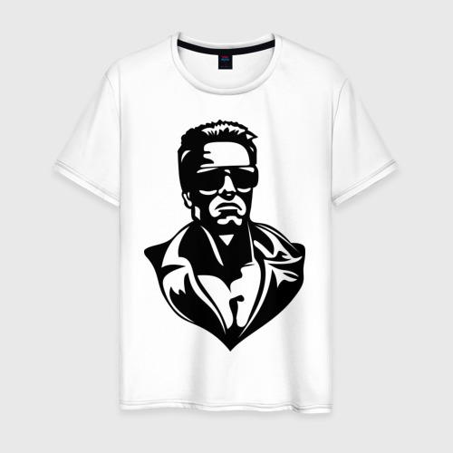 Мужская футболка хлопок Шварцнеггер