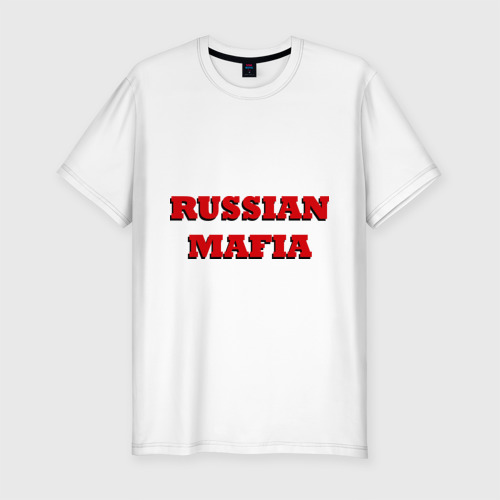 Мужская футболка хлопок Slim Russian Mafia