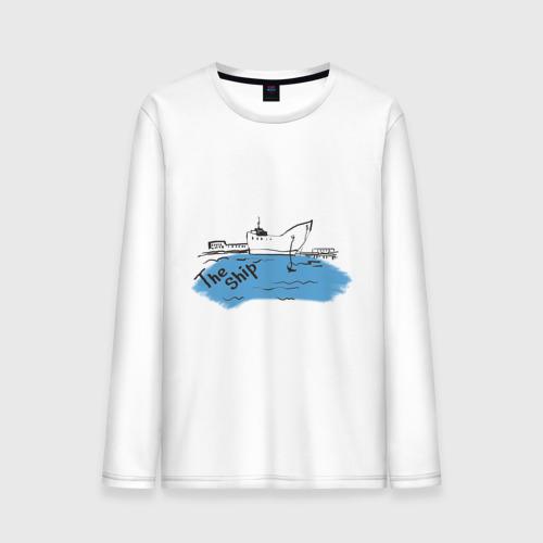 Мужской лонгслив хлопок The Ship