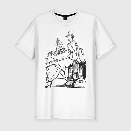 Мужская футболка хлопок Slim Ретро (2)