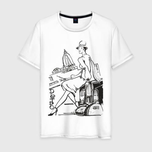 Мужская футболка хлопок Ретро (2)