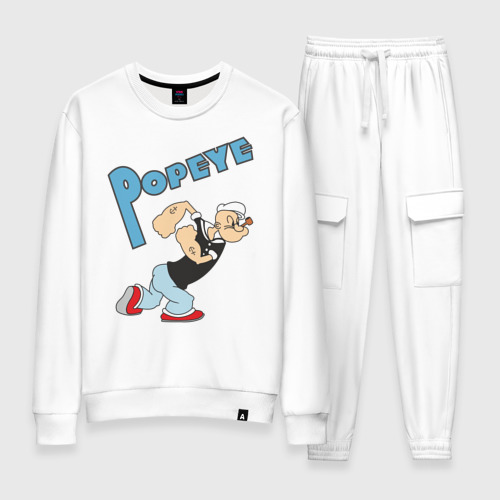 Женский костюм хлопок Popeye
