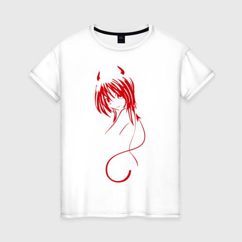 Женская футболка хлопок Devil Girl