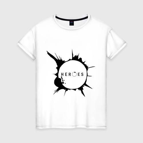 Женская футболка хлопок Heroes (9)
