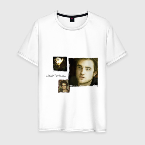 Мужская футболка хлопок Роберт Паттинсон