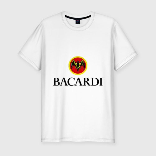 Мужская футболка хлопок Slim Bacardi