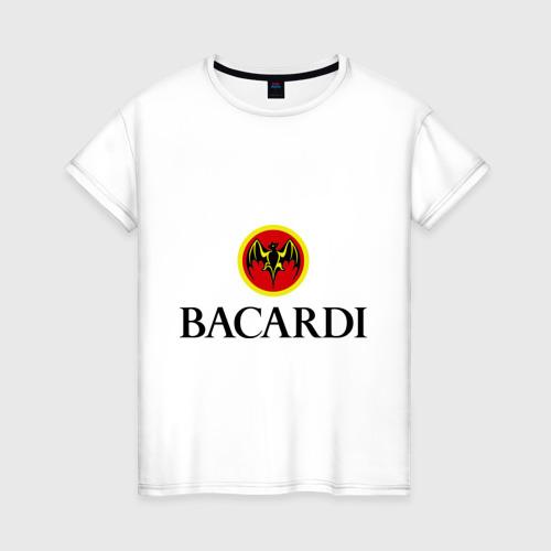 Женская футболка хлопок Bacardi