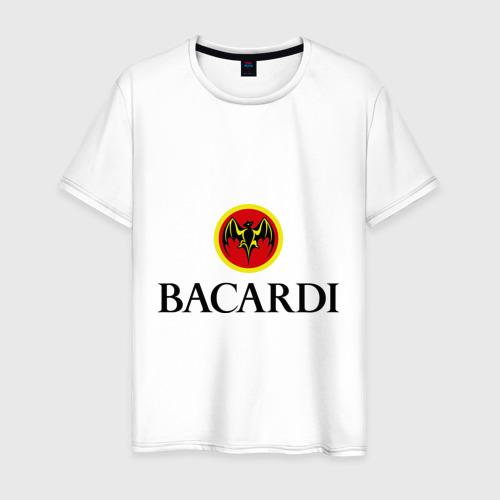 Мужская футболка хлопок Bacardi