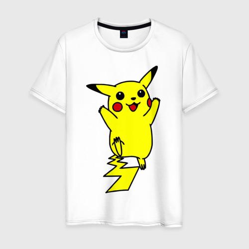 Мужская футболка хлопок Покемоны5