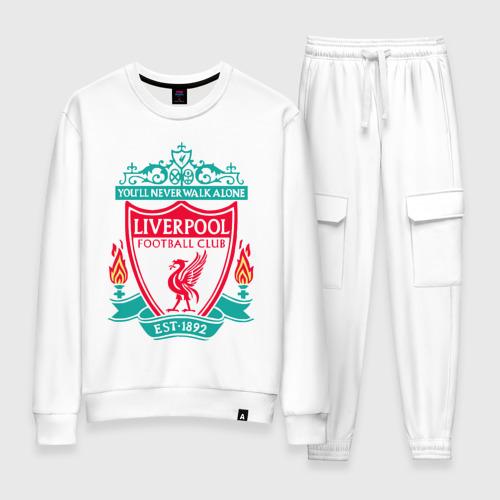 Женский костюм хлопок Liverpool