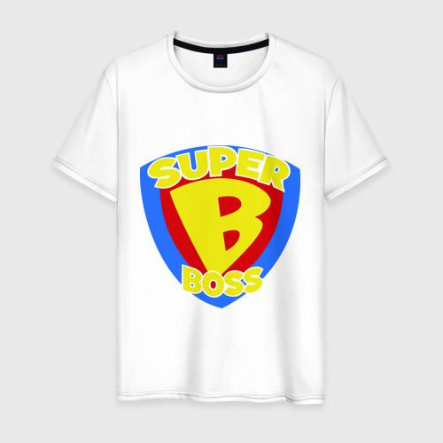 Мужская футболка хлопок Супер-босс