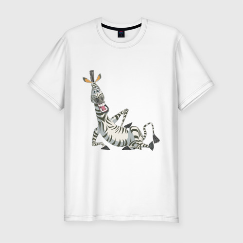 Мужская футболка хлопок Slim Мадагаскар (4)