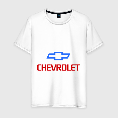 Мужская футболка хлопок Chevrolet