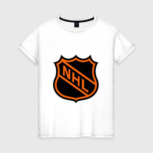 Женская футболка хлопок NHL