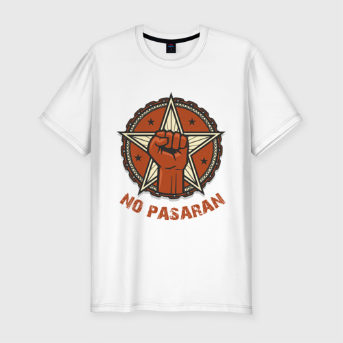 Мужская футболка хлопок Slim No Pasaran