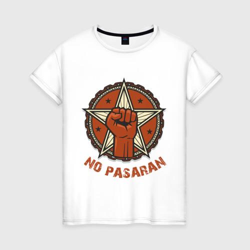 Женская футболка хлопок No Pasaran