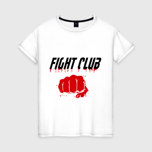 Женская футболка хлопок Fight Club