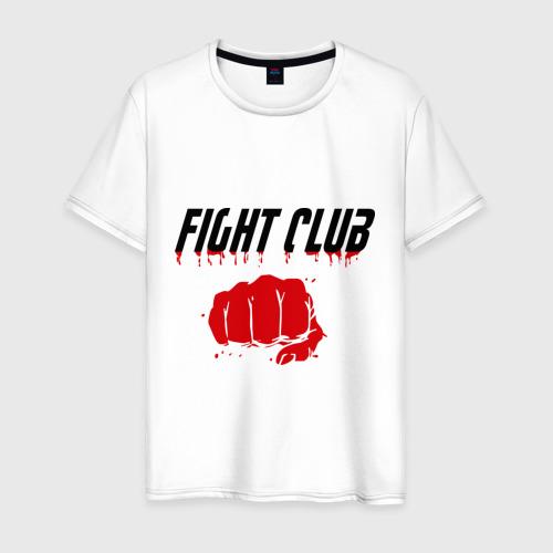 Мужская футболка хлопок Fight Club