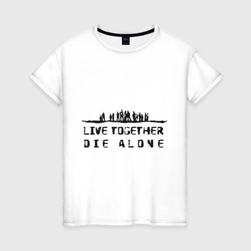 Женская футболка хлопок Lost (8)