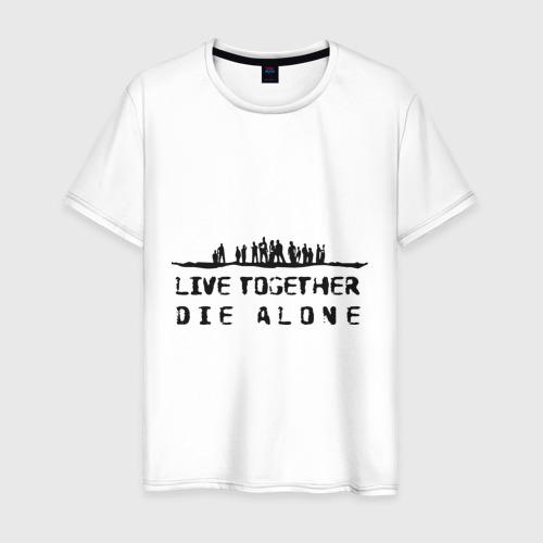 Мужская футболка хлопок Lost (8)