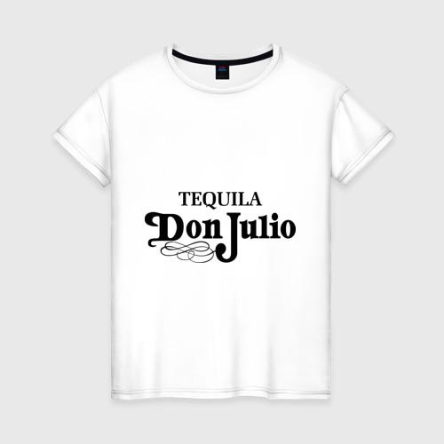 Женская футболка хлопок Tequila don julio