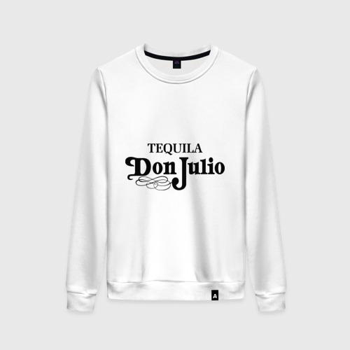 Женский свитшот хлопок Tequila don julio