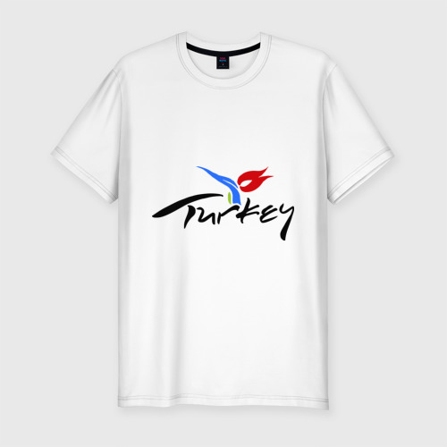 Мужская футболка хлопок Slim Turkey