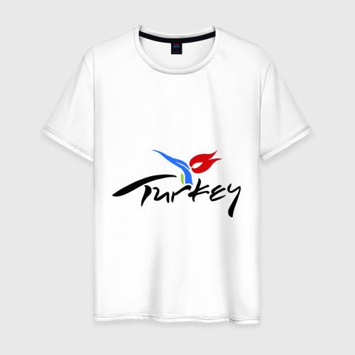 Мужская футболка хлопок Turkey
