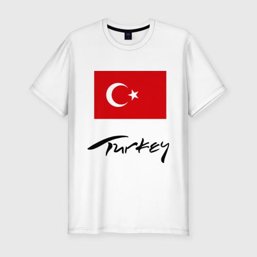 Мужская футболка хлопок Slim Turkey (2)