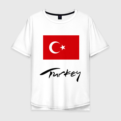 Мужская футболка хлопок Oversize Turkey (2)