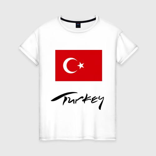 Женская футболка хлопок Turkey (2)