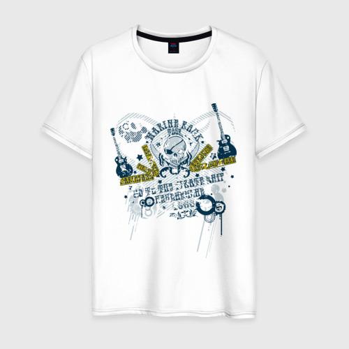 Мужская футболка хлопок Music (14)