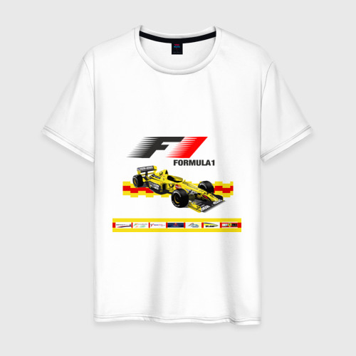 Мужская футболка хлопок F1