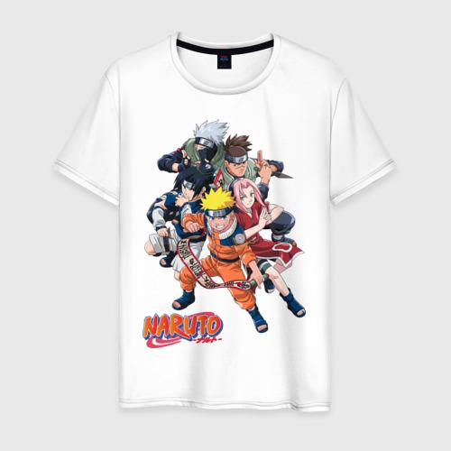 Мужская футболка хлопок Naruto (4)