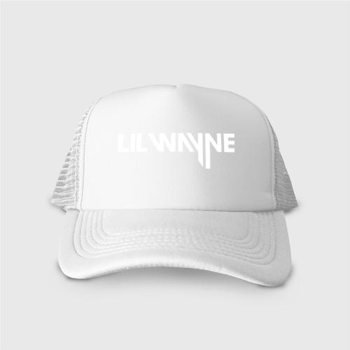 Кепка тракер с сеткой Lil Wayne