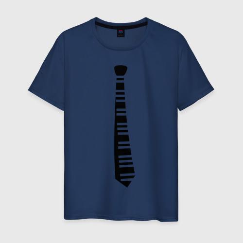 Мужская футболка хлопок Галстук (2)