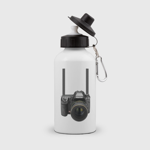 Бутылка спортивная Фотоаппарат на шее
