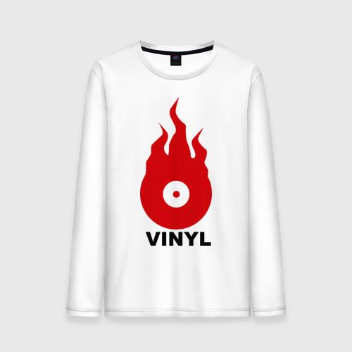 Мужской лонгслив хлопок Vinyl