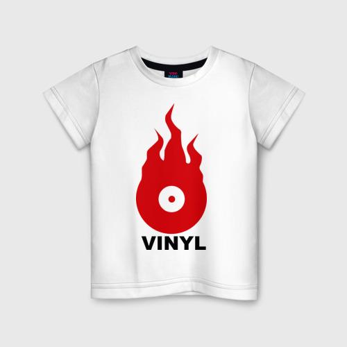 Детская футболка хлопок Vinyl