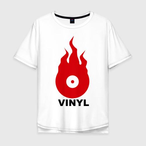 Мужская футболка хлопок Oversize Vinyl