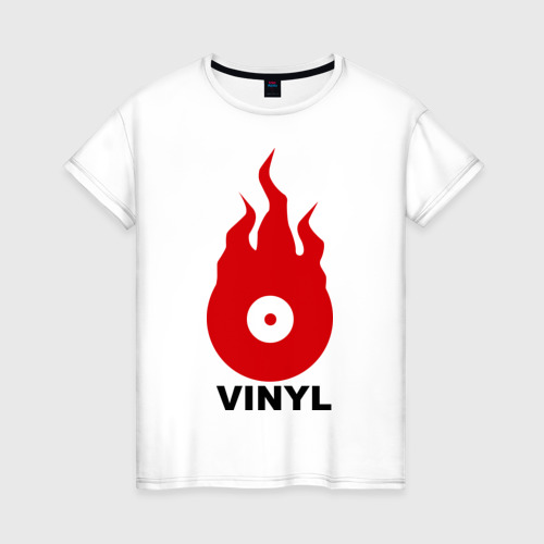 Женская футболка хлопок Vinyl
