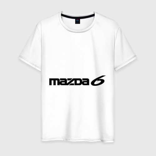 Мужская футболка хлопок Mazda 6