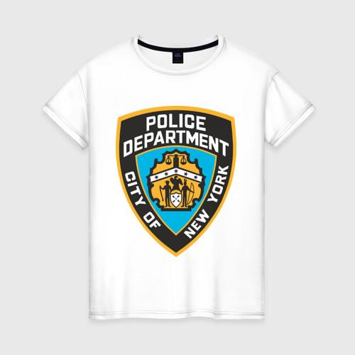 Женская футболка хлопок N.Y.P.D.