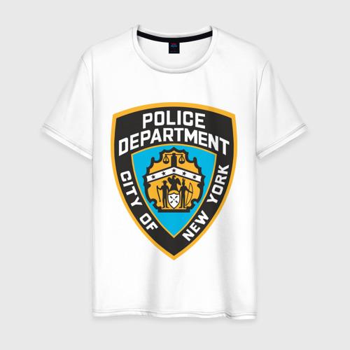 Мужская футболка хлопок N.Y.P.D.
