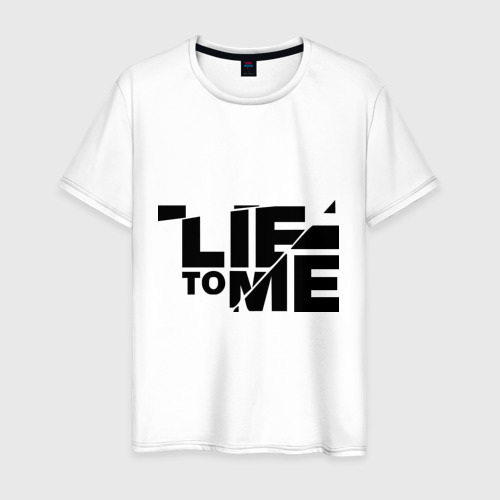 Мужская футболка хлопок Lie to me (3)