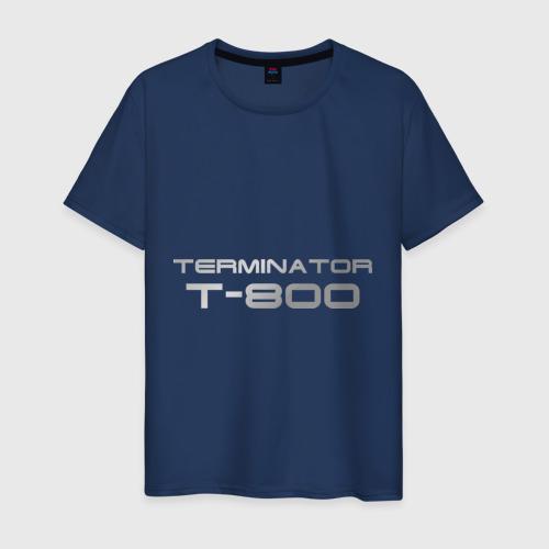 Мужская футболка хлопок Терминатор Т-800