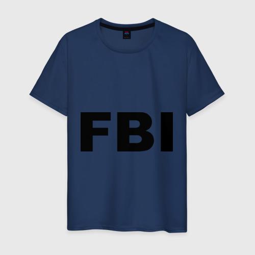 Мужская футболка хлопок FBI (2)
