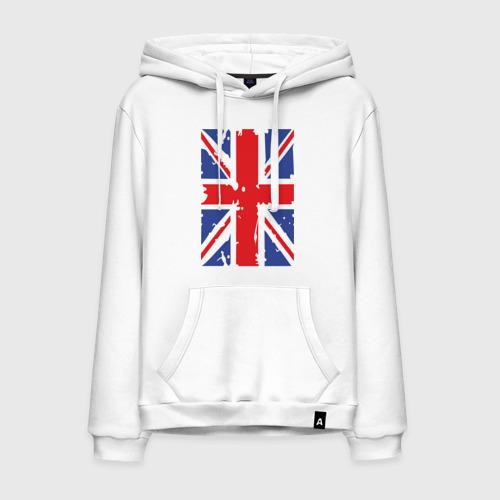 Мужская толстовка хлопок Британский флаг